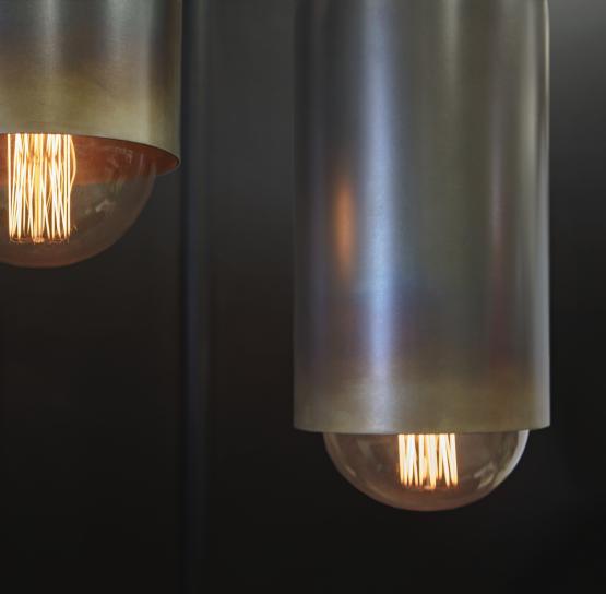 Micucci Interiors - FACTORY PENDANT LIGHT – SHORT