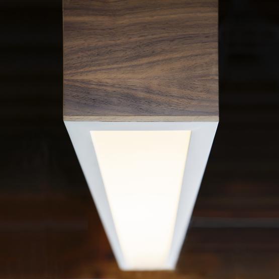 Micucci Interiors - WOOD LIGHT THREE PENDANT