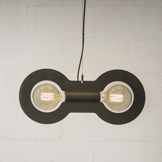 Micucci Interiors - WORKMAN PENDANT LIGHT – DOUBLE