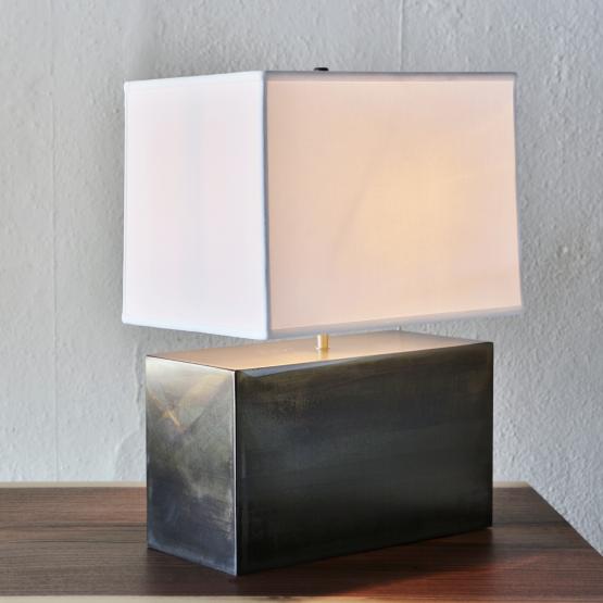 Micucci Interiors - SHOE BOX TABLE LAMP