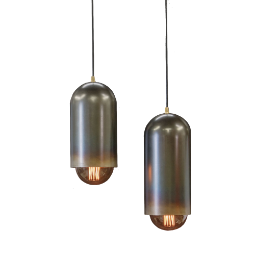 Micucci Interiors - FACTORY PENDANT LIGHT – SHORT