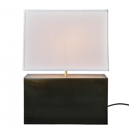 Micucci Interiors - SHOE BOX TABLE LAMP