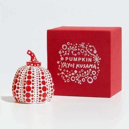 Yayoi Kusama-Pumpkin (Red)-Art
