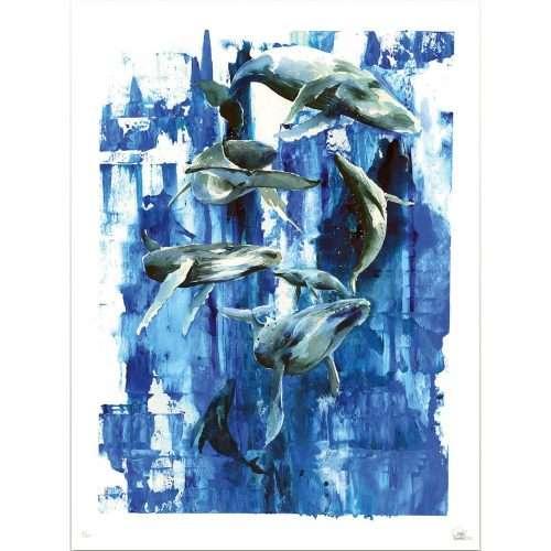Micucci Interiors - Lora Zombie – Whales