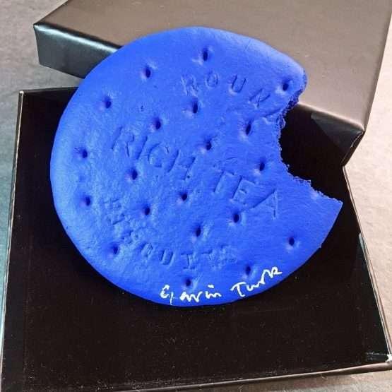 Micucci Interiors - Gavin Turk – Blue Rich Tea Biscuit