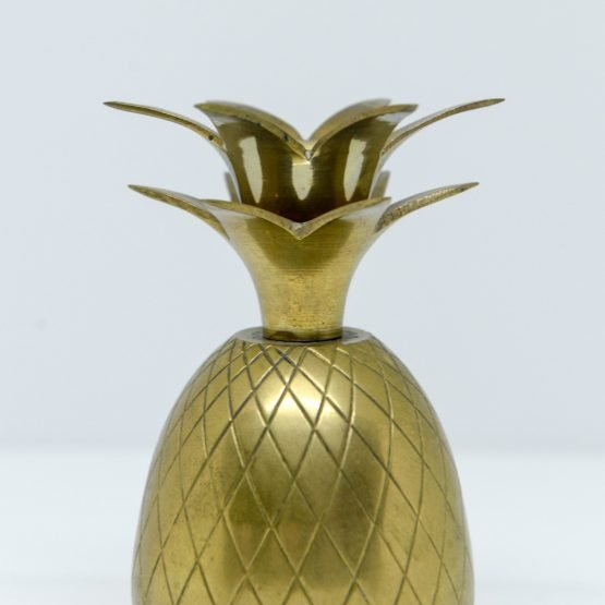 Micucci Interiors - American Hollywood Regency Brass Pineapple