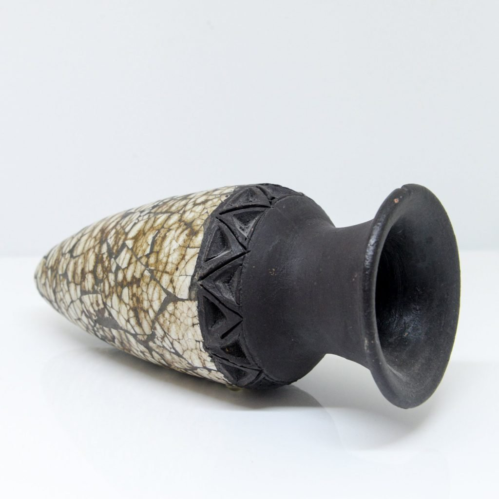 French Amphora Style Ceramic Vase