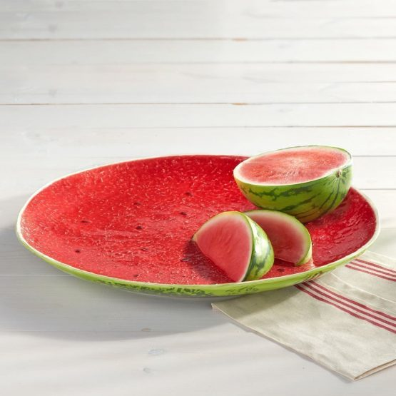 Micucci Interiors - Watermelon Plate Large