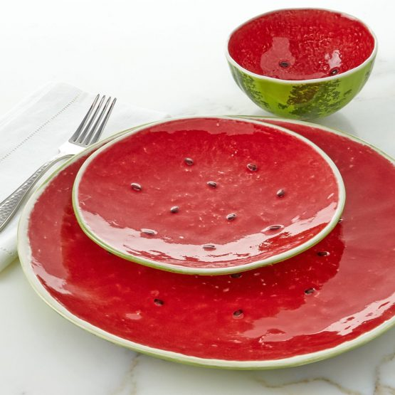 Micucci Interiors - Watermelon Plate Small