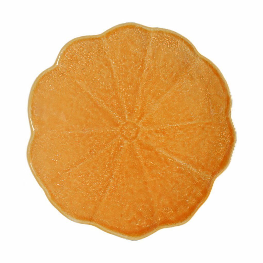 Pumpkin Plate Regular-Bordallo Pinheiro
