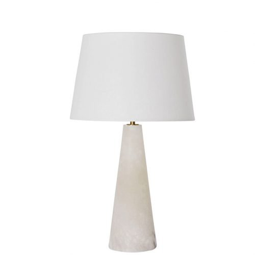 Micucci Interiors - Celine Alabaster Table Lamp Regular