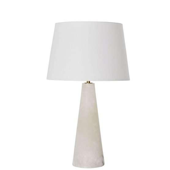 Celine Alabaster Table Lamp-Regular size