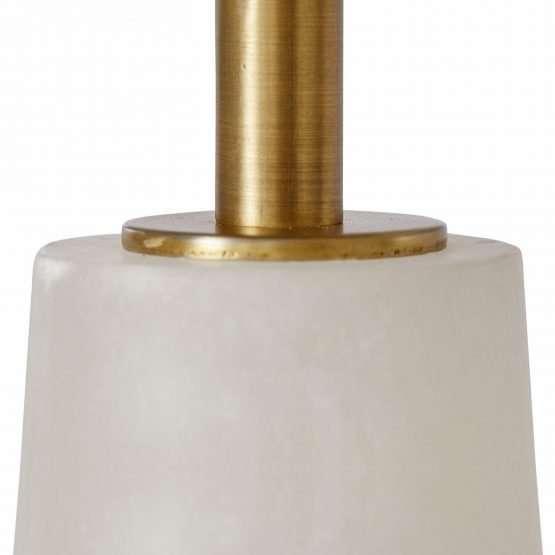 Micucci Interiors - Celine Alabaster Table Lamp Regular