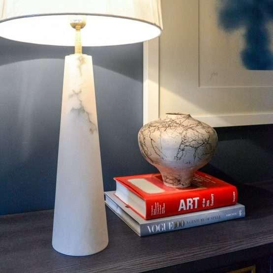 Celine Alabaster Table Lamp