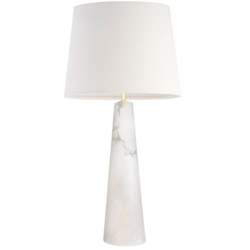 Micucci Interiors - Celine Alabaster Table Lamp Large