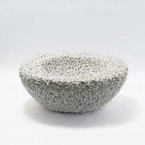 Caos Ceramic Bowl-Claudio Pulicati Ceramics