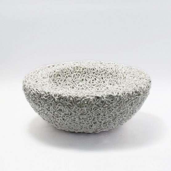 Caos Ceramic Bowl-Claudio Pulicati Ceramics