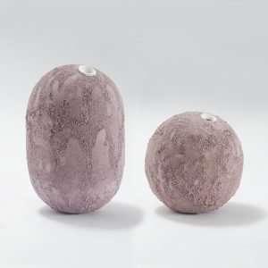 GEA Ceramic Vase-Violet-Claudio Pulicati Ceramics