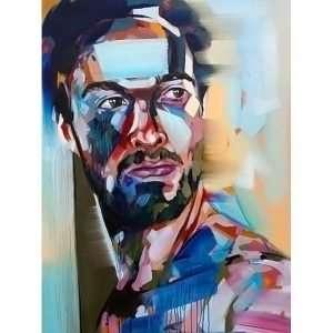 Brad Kenny - Ross-Original Painting Contemporary Art