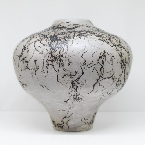 Micucci Interiors - Horsehair Raku Large Vase