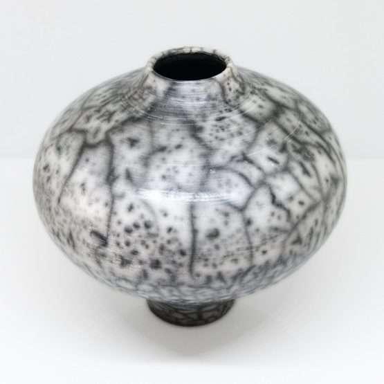 Naked Raku Regular Vase-Ceramic