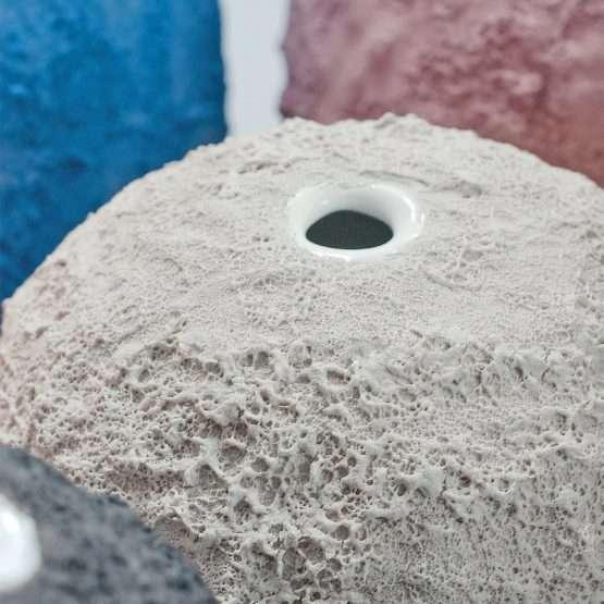 GEA Ceramic Vase-Ivory White-Claudio Pulicati Ceramics
