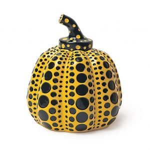 Yayoi Kusama-Pumpkin (Yellow)-Art