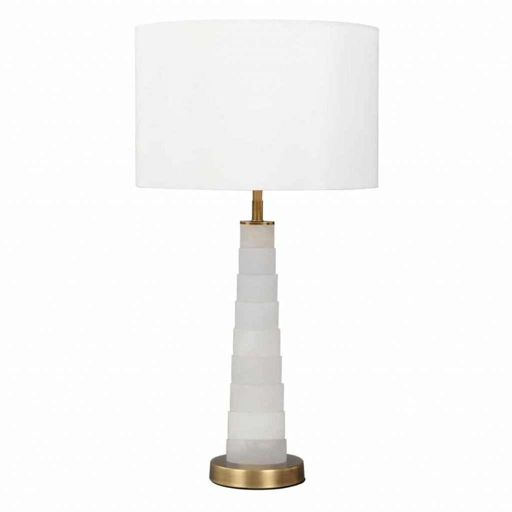 Lorraine Alabaster Table Lamp