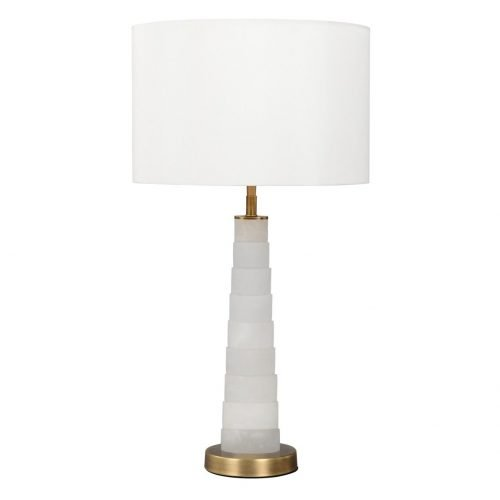 Micucci Interiors - Lorraine Alabaster Table Lamp