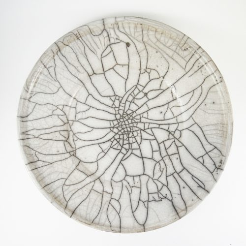 Micucci Interiors - Spider Raku Large Plate