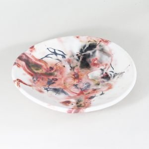 Saggar Large Plate-Ceramics-Large Plate tabletop accessories