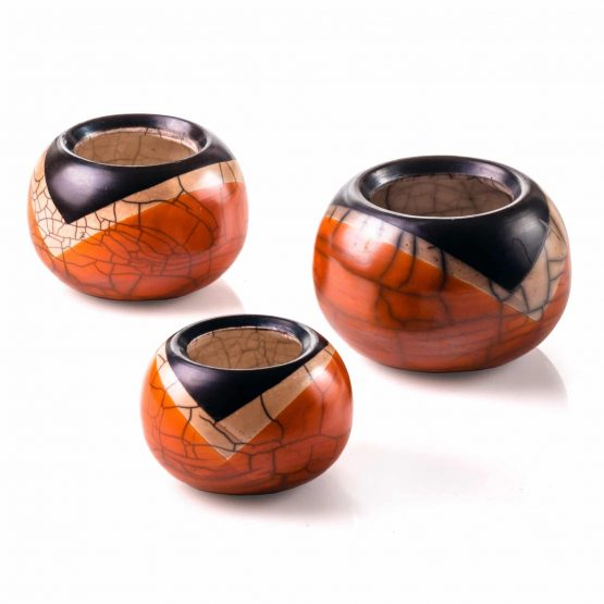 Micucci Interiors - Raku Dolce Small Vase