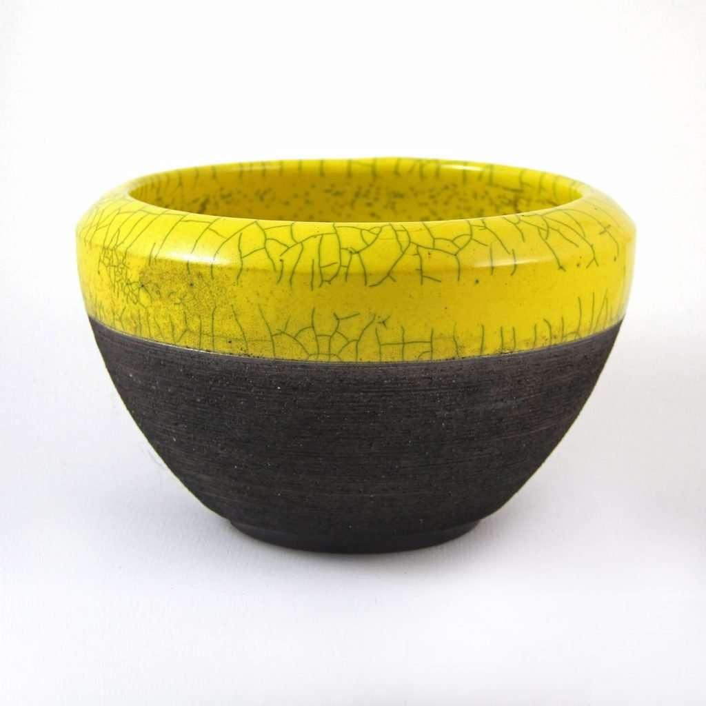 Raku Regular Bowl-Denis Di Luca Ceramics-tabletop accessories