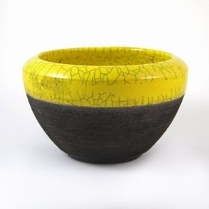 Raku Regular Bowl-Denis Di Luca Ceramics-tabletop accessories