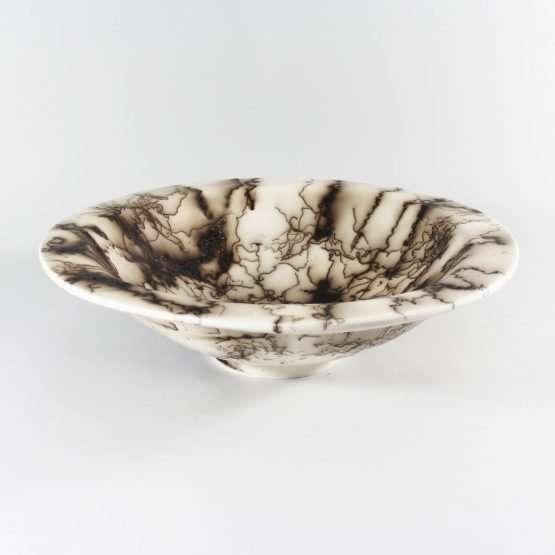 Horsehair Large Bowl-Ceramic