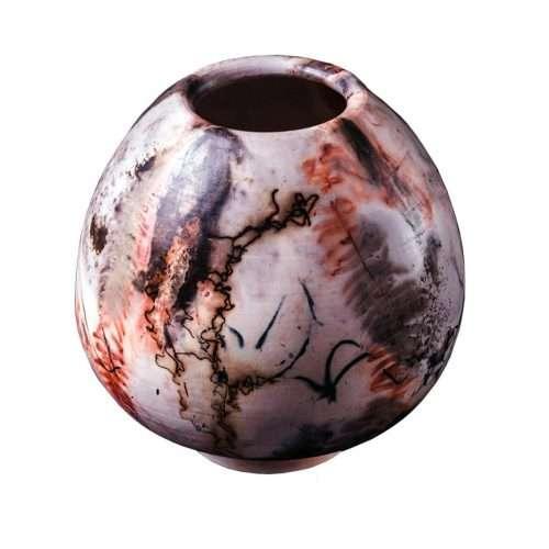 Micucci Interiors - Saggar Pear Vase