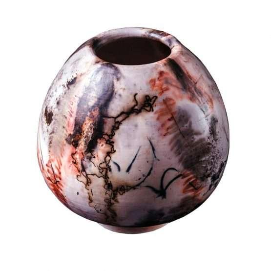 vase Denis Di Luca-Saggar Pear Vase-Ceramics