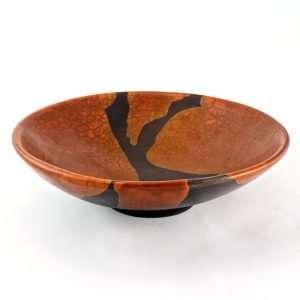 Raku Dolce Large Bowl-Ceramics