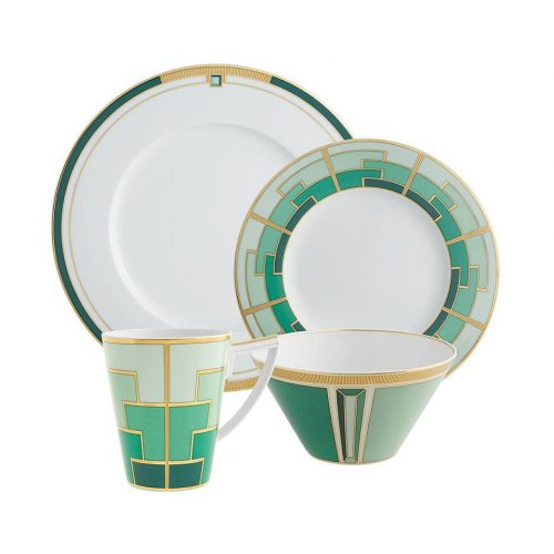 Micucci Interiors - Emerald Appetizers Bowl