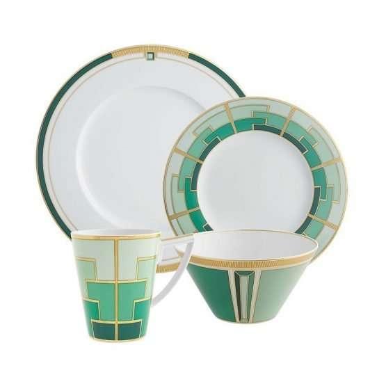 Micucci Interiors - Emerald Salad Bowl