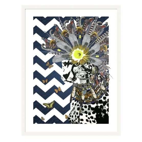 print artist contemporary-Jana Nicole-Animal Attractions. Nakoda