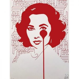 PURE EVIL- LIZ TAYLOR-Private Collection