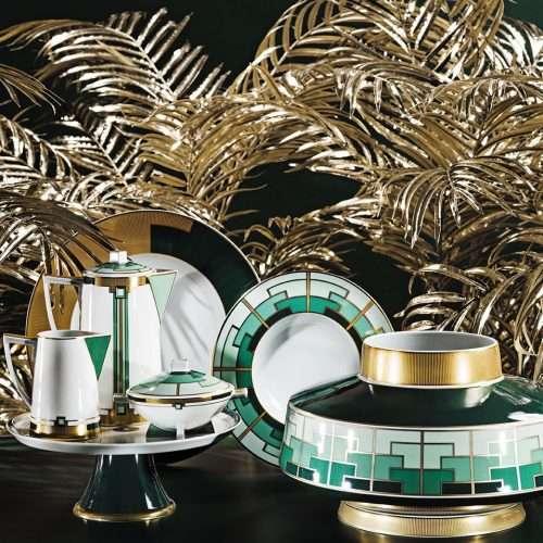 Micucci Interiors - Emerald Cake Stand