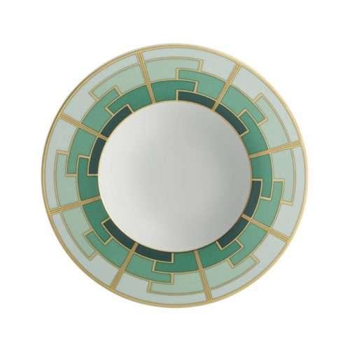 Micucci Interiors - Emerald Soup Plate
