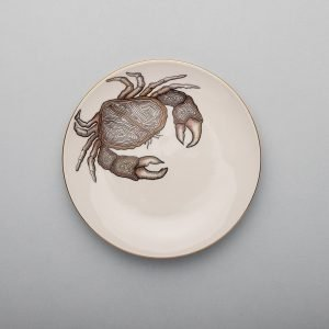 Crab Dessert Plate-Micuit Collection
