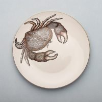 Micuit-Crab Dinner Plate   Micuit Collection-Micucci Interiors