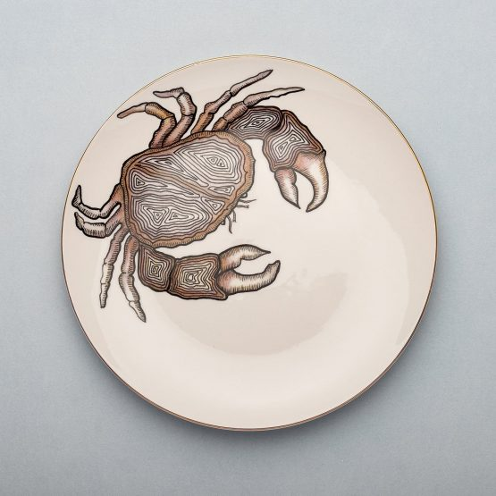 Micuit-Crab Dinner Plate | Micuit Collection-Micucci Interiors