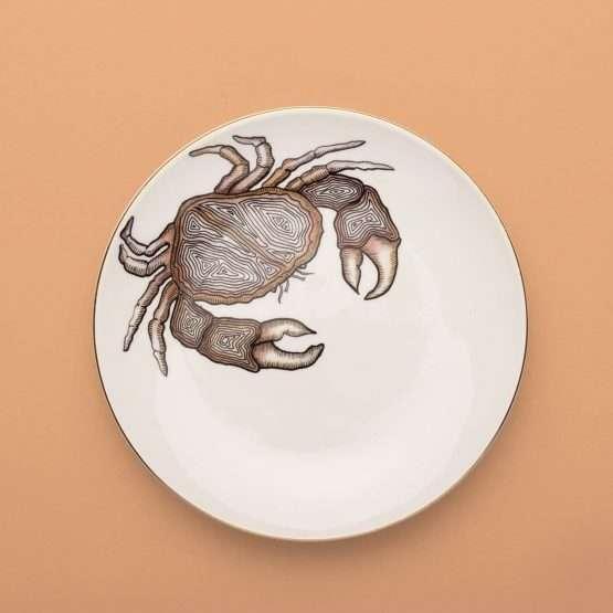 Micucci Interiors - MICUIT – CRAB DINNER PLATE