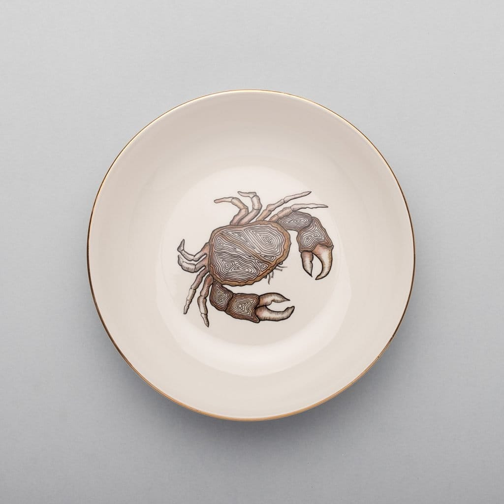 Crab Soup Plate-Micuit Collection
