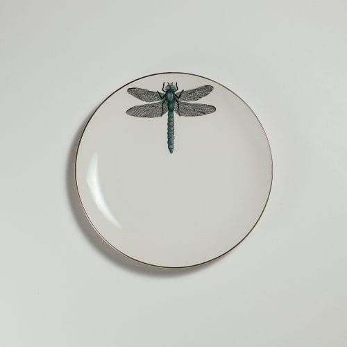 Micucci Interiors - MICUIT – DRAGONFLY DESSERT PLATE